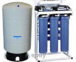 Titan Système D'osmose Inverse D'eau De 800 Gpd Avec Pompe D'appoint 40 Gallons Réservoir