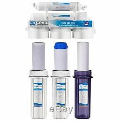 Us Aqua Platinum Series 5 Etape 100gpd Système D'osmose Inverse De Filtration D'eau