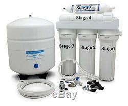 Water Systems - Lot De Filtres De Remplacement Par Osmose En 5 Étapes, 50 Lb / Po2 Pour Tous