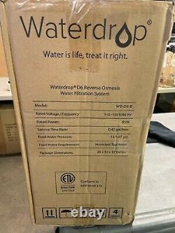 Waterdrop 600gpd D6 Système De Filtration D'eau Par Osmose Inverse