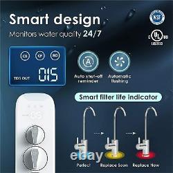 Waterdrop Ro Osmose Inverse Système De Filtration D'eau Potable 400 Gpd