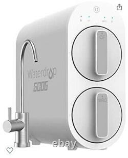 Waterdrop Ro Système De Filtration D'eau À Osmose Inverse Blanc (wd-g2p600-w)