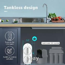 Waterdrop Ro Système De Filtration D'eau Par Osmose Inverse, 600 Gpd, Smart Panel
