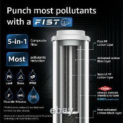 Waterdrop Wd-d6-b Système De Filtration D'eau À Osmose Inverse, USA Tech Support